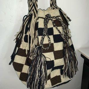 Hand made Colombian crossbody bag